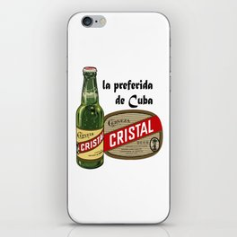 CRISTAL BEER iPhone Skin