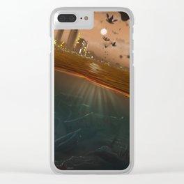 Future Life Clear iPhone Case