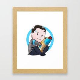 Tiny Connor Framed Art Print