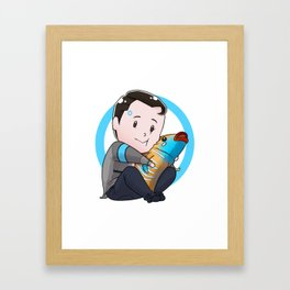Tiny Connor Framed Art Print