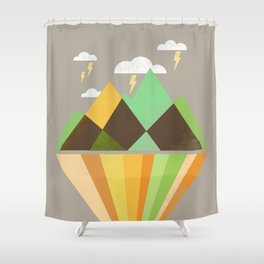Void Dweller 2 Shower Curtain