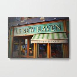 Le New Haven Restaurant Metal Print