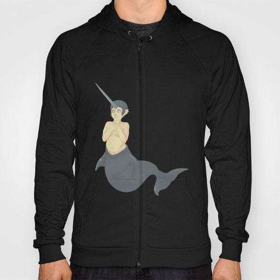 Narwhal Mermaid Hoody
