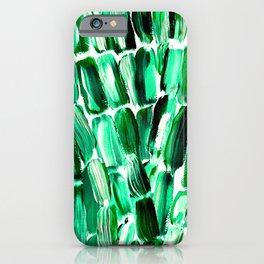 Green Sugarcane, Unripe iPhone Case