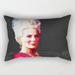 Kirsten Dunst as Marie Antoinette Rectangular Pillow