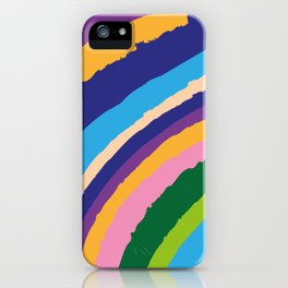 Color hongo iPhone Case