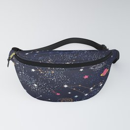 Space Galaxy Fanny Pack