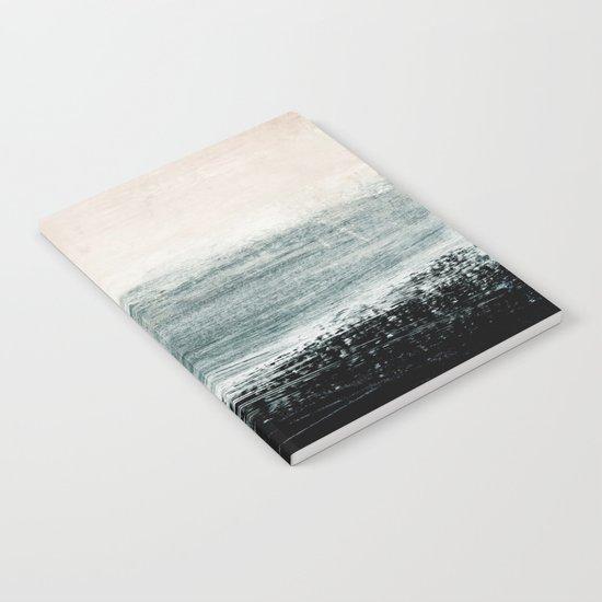abstract minimalist landscape 3 Notebook