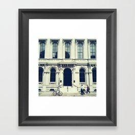 Untitled (Bank) Framed Art Print