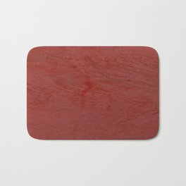 Tuscan Red Stucco - Rustic Glam Bath Mat