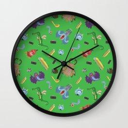 Monster city Wall Clock
