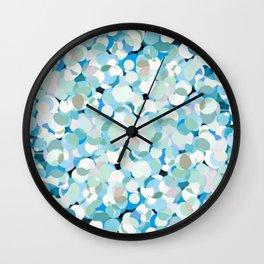 Cold Polka Wall Clock