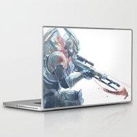 garrus Laptop & iPad Skins featuring Archangel Vakarian by skepticArcher