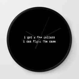 99 problems II Wall Clock