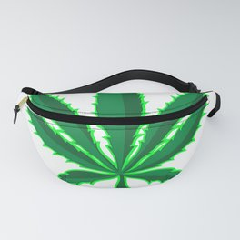 I'd Hit That Pot Leaf and Pipe Fanny Pack