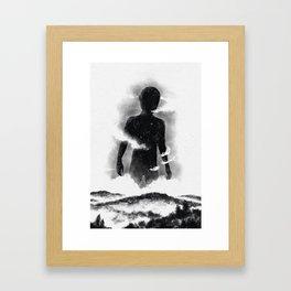 The destroyer of worlds Framed Art Print