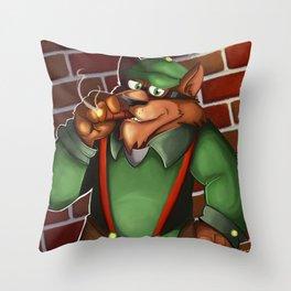 A Good Puff Throw Pillow