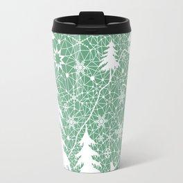 Lace Christmas pattern Travel Mug
