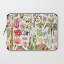 Adolphe Millot - Algues - French vintage poster Laptop Sleeve