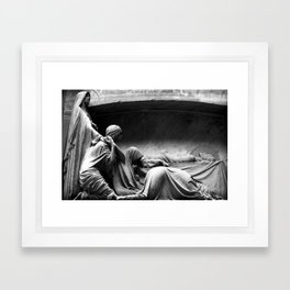 Closer - Joy Division Framed Art Print
