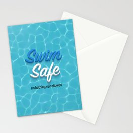 Swim Safe Stationery Cards