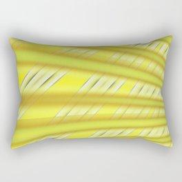 Fractal Play in Citruslicious Rectangular Pillow