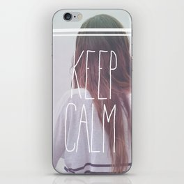 Wander (Keep Calm) iPhone Skin