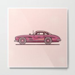 Funky Car Metal Print