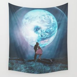 Two million Years from Yesterday Wall Tapestry