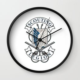 "Attack On Titan ""Scouting Legion"" Wall Clock"