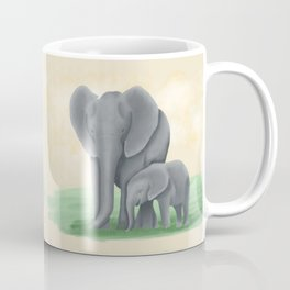 Mama Tembo (Mama Elephant & Baby) Coffee Mug