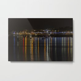 Prince of Wales Pier at Night Metal Print