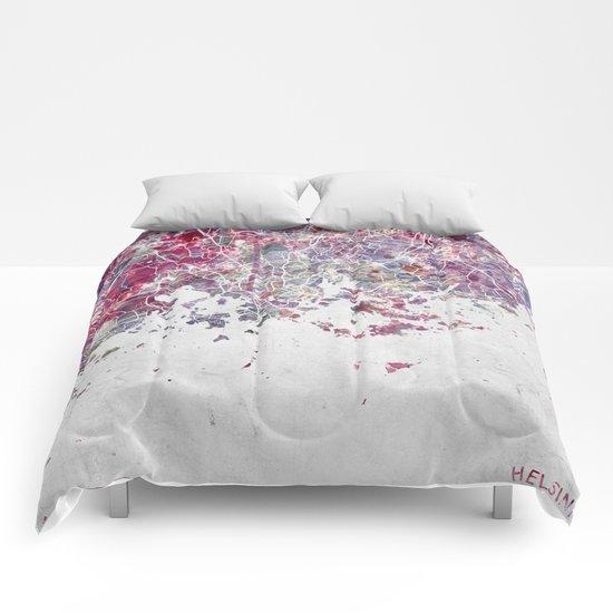 Helsinki Map Comforters