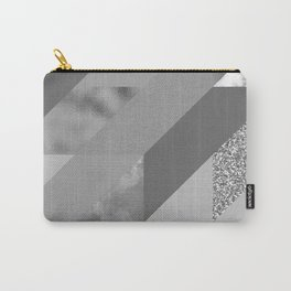 gray pattern Carry-All Pouch