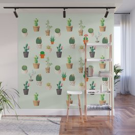 Pokey Cactus Collection Wall Mural