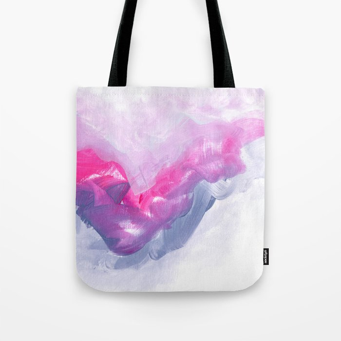 Flying above the night Tote Bag