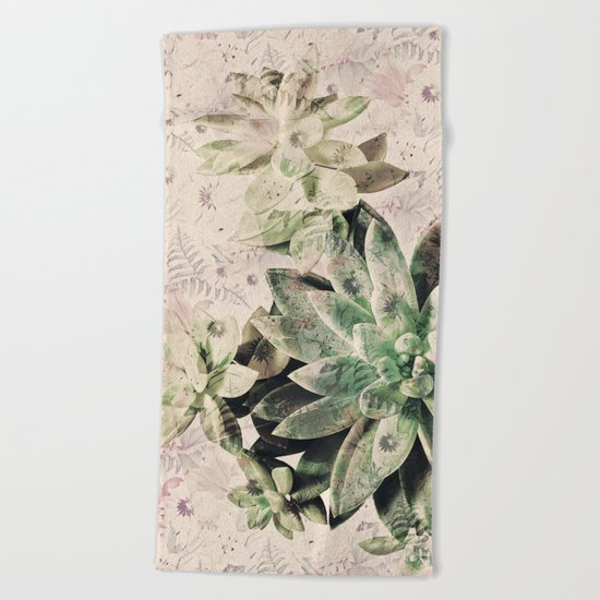 Flourish Beach Towel