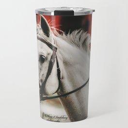 Grey Horse Travel Mug