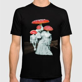 amanita muscaria with children T-shirt