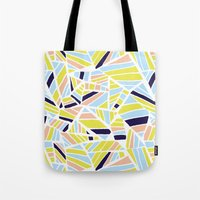 dave matthews Tote Bags featuring Dave by Little Things Studio