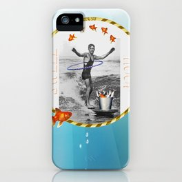 The Swell as You Hoop iPhone Case
