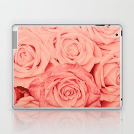 Some People Grumble - Living Coral Roses Laptop & iPad Skin