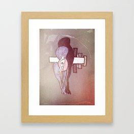 Depressed Framed Art Print