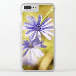 wild flowers #123 Clear iPhone Case