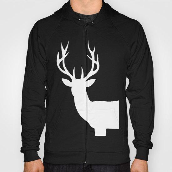 The White Deer  Hoody