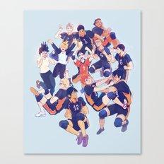 karasuno  Canvas Print