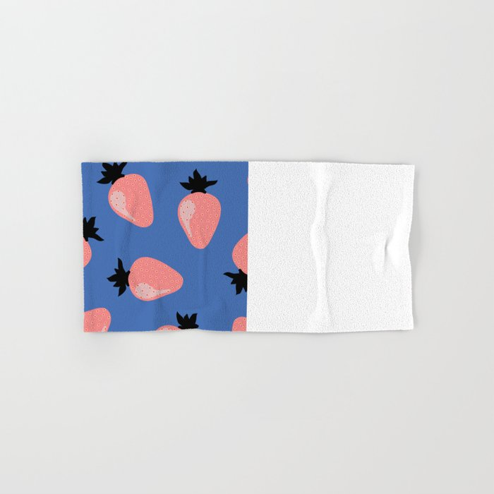 Strawberries Hand & Bath Towel
