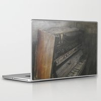 piano Laptop & iPad Skins featuring Piano by Claudia Ma