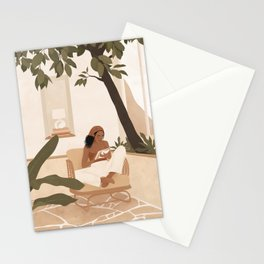Be a Work In Progress Stationery Cards