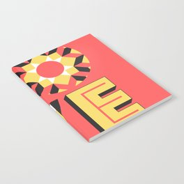 LOVE - Coral Notebook
